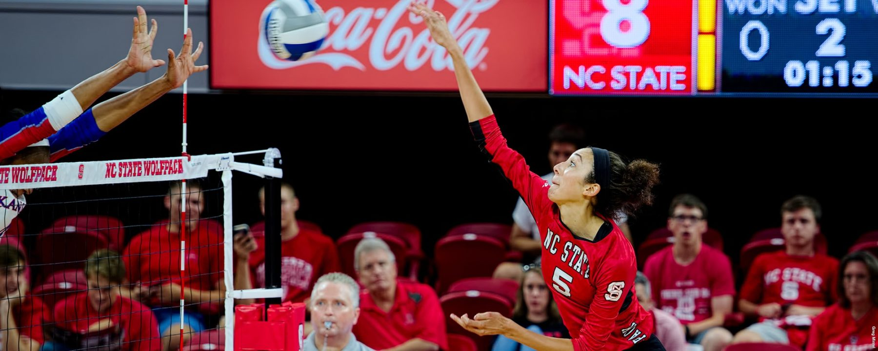 N.C. State's Bailey Records 1000th Kill in Loss to #21 Michigan