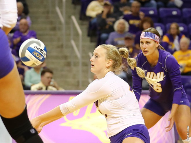 RV Northern Iowa Upends #11 Nebraska for NCAA-Best Fourth Ranked Win
