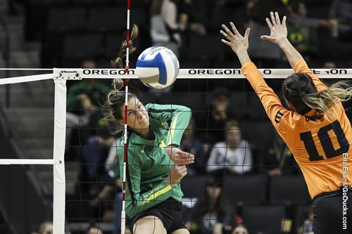 Three Ducks Hit Over .500 in #8 Oregon's Sweep of Rival Oregon State