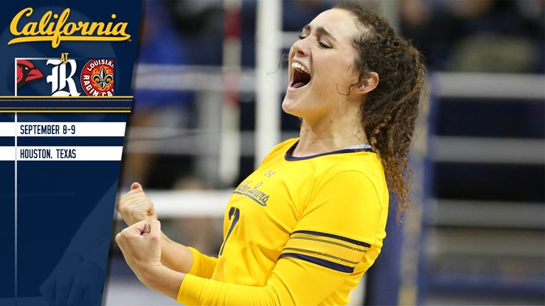 Cal Hits Road For First Time This Season At Rice Invitational