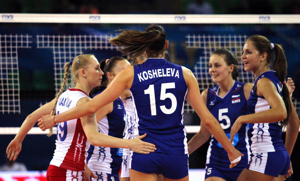 "Kosheleva Asks ""Volleyball Experts"" To Be ""Tactful and Responsible"""