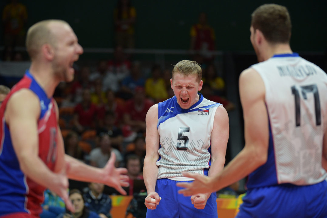 Russia Moves Into Tie for Top Spot in CEV Rankings