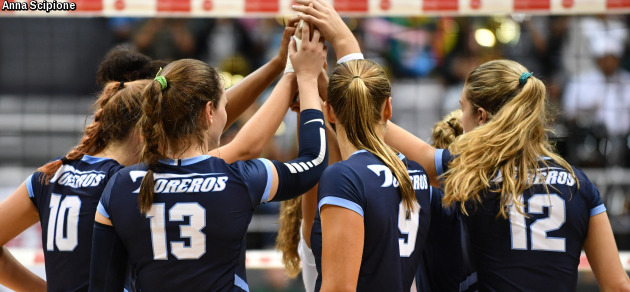 Three San Diego Players Collect 10 Kills in Sweep of San Francisco