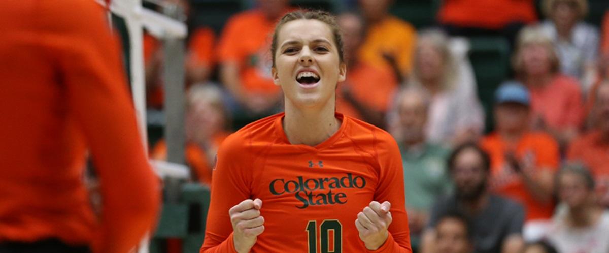 Colorado State's Sanja Cizmic Tabbed AVCA DI Player Of The Week