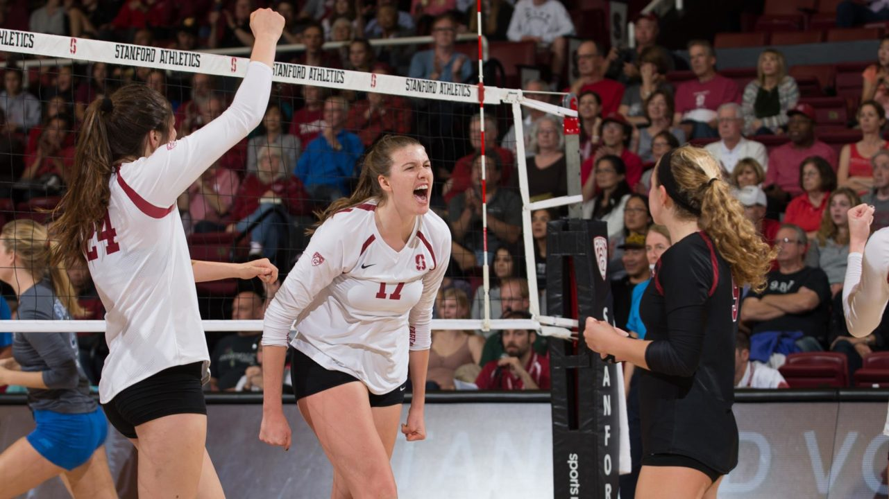 Stanford Picks Up 15th Straight Home Win In Sweep Over Utah