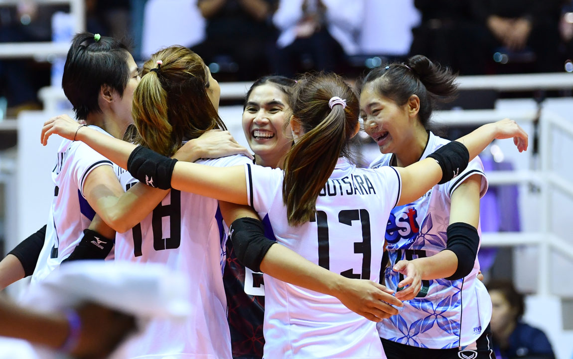 South Korea, Thailand Punch Tickets to 2018 Worlds with 3-0 AVC Marks