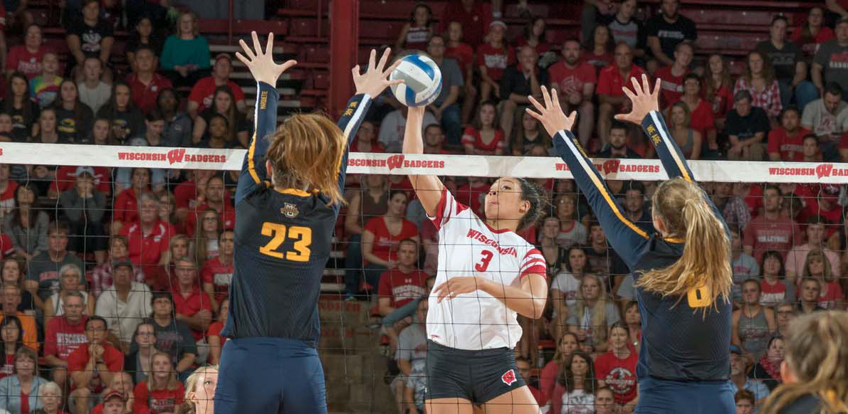 Wisconsin Holds Northwestern to a .020 Hitting % in Home Sweep