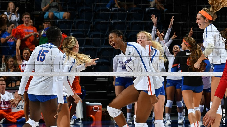 Florida Stays #1 After Hurricane Irma Thwarts Schedule; VolleyMob Week 4 Top 25