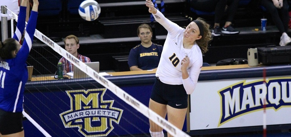 Marquette's Allie Barber Earns Big East Offensive Player Of The Week