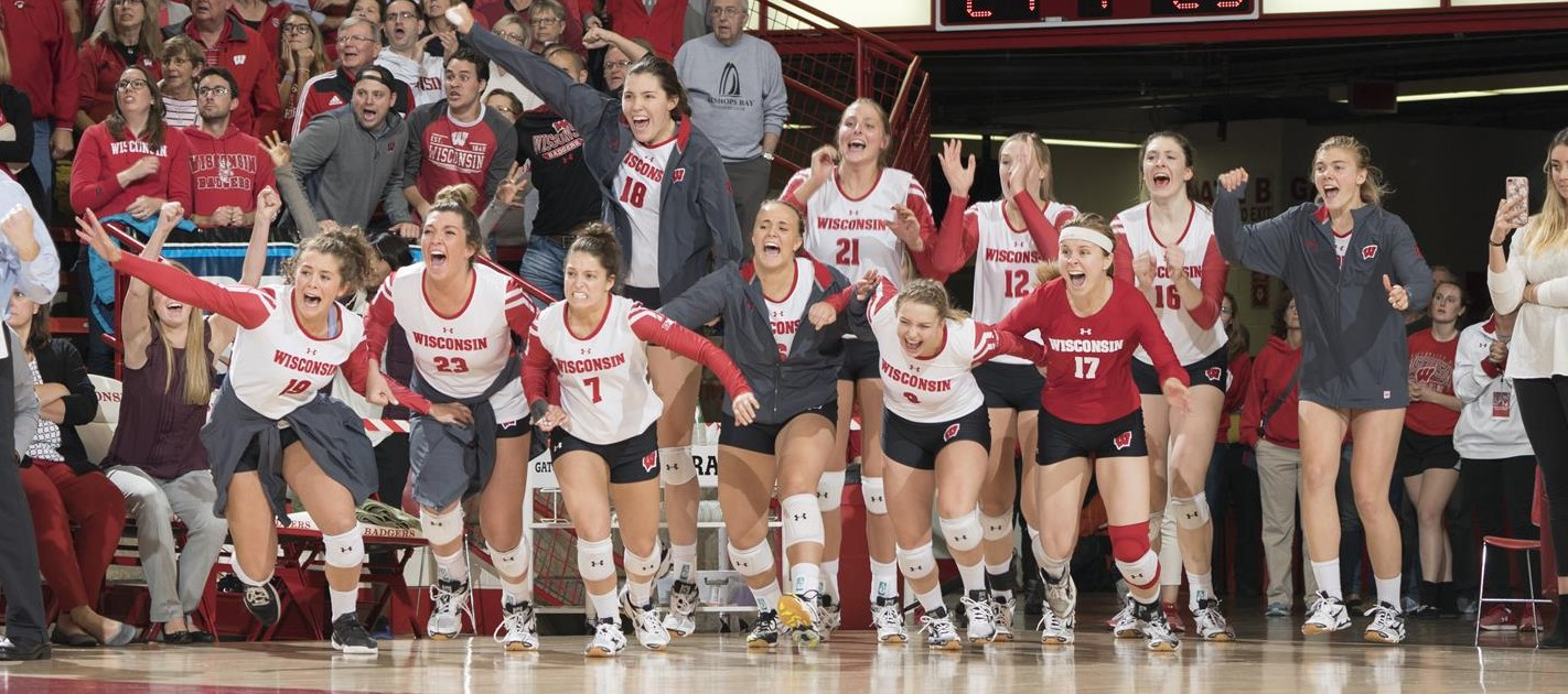 Wisconsin Sweeps Through Loyola Chicago In Spring Opener