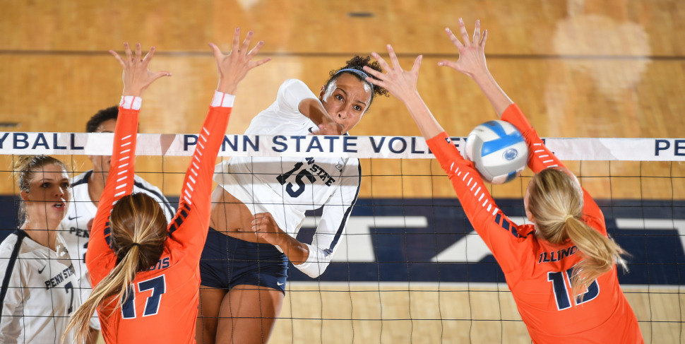 Washington Finishes Career Third All-Time in Hitting Percentage