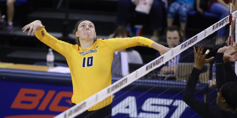 Big East: #15 Marquette Sweeps Xavier; DePaul Outlasts Butler in Five