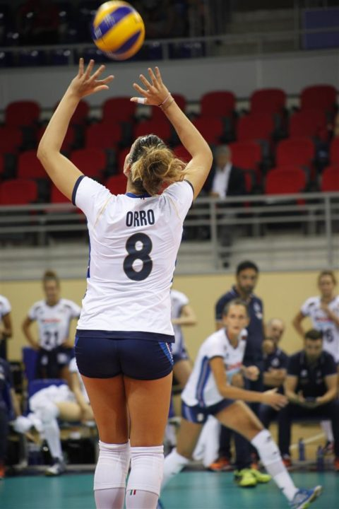 Alessia Orro Completes UYBA (Busto Arsizio) Team