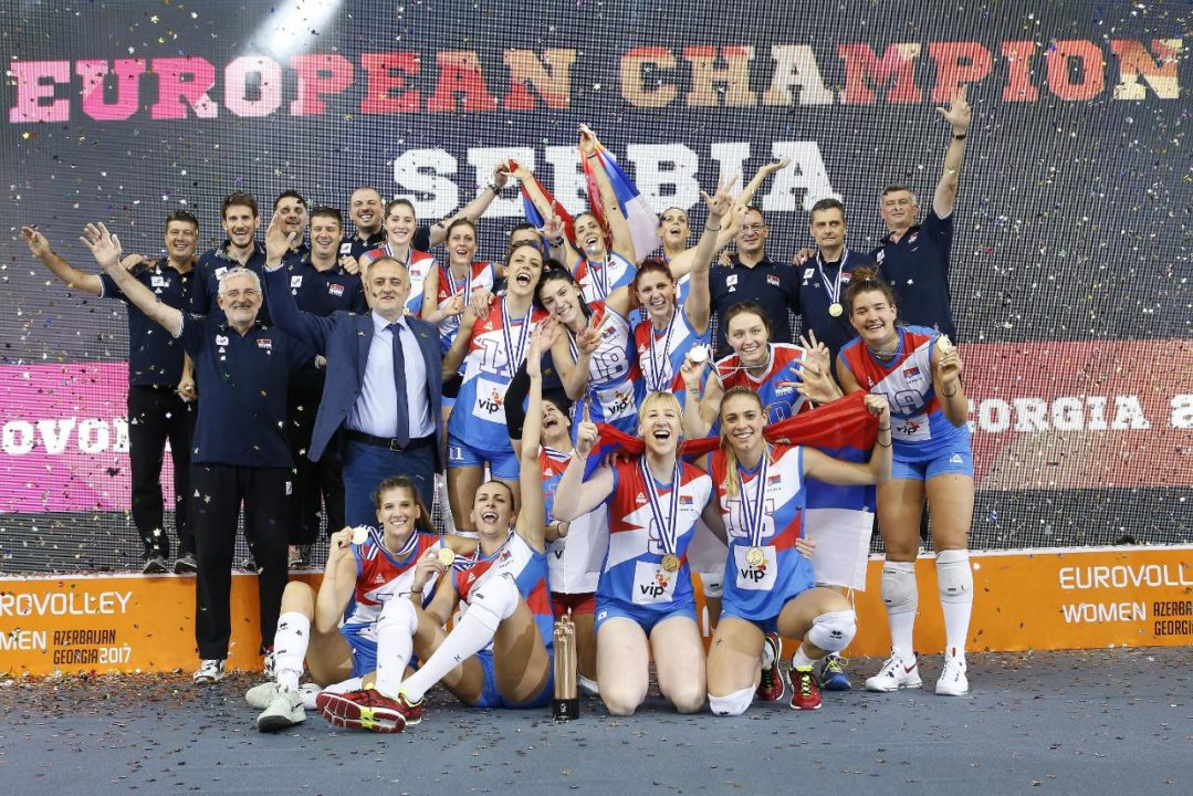 The Serbian Women are 2017 European Champions – Recap and Highlights