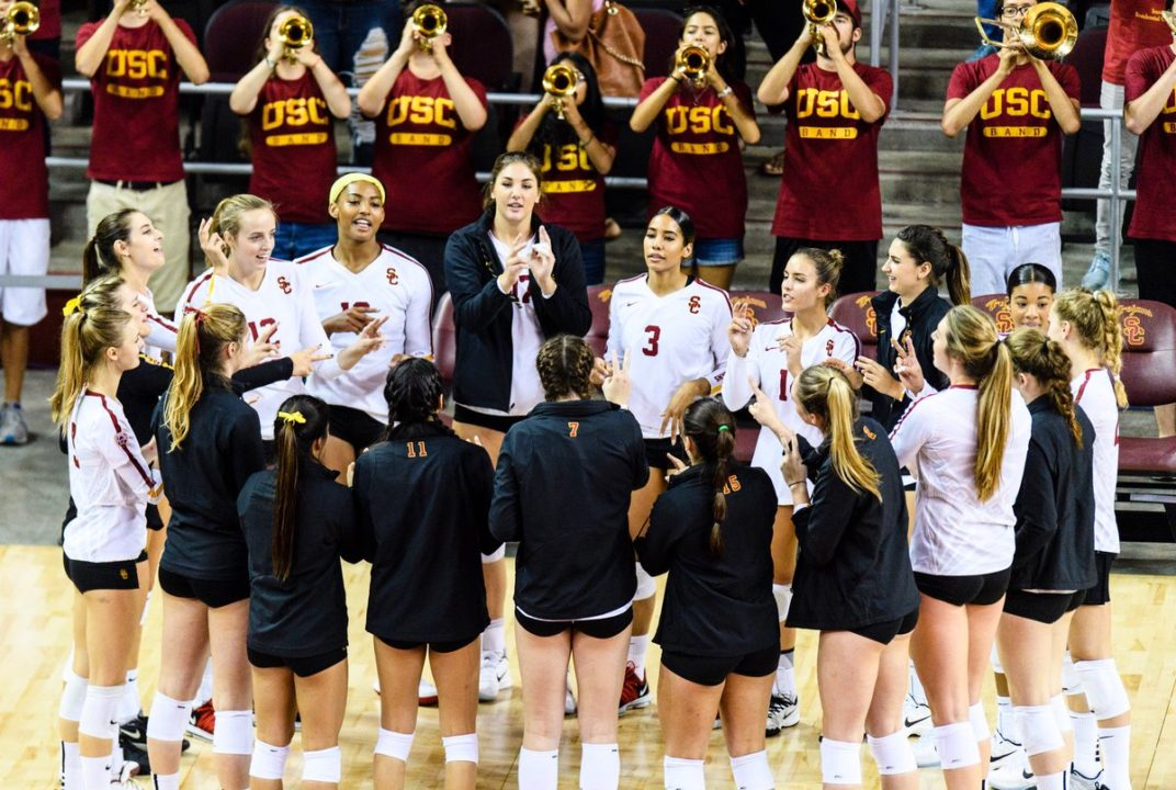 16 Kills from Brittany Abercrombie Leads #12 USC to Win over Cal
