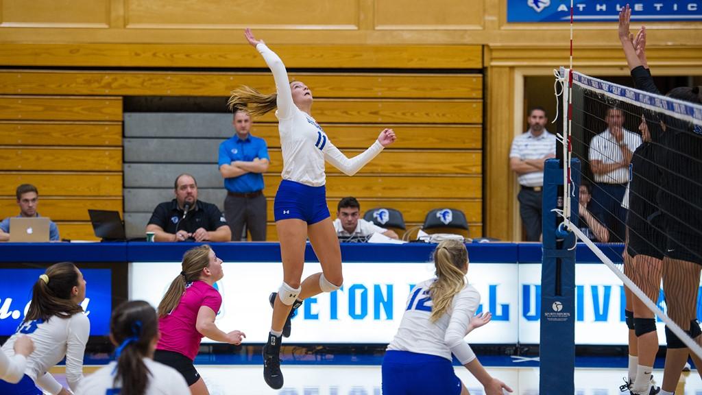 Seton Hall Defeats Georgetown Behind 18 Abby Thelen Kills