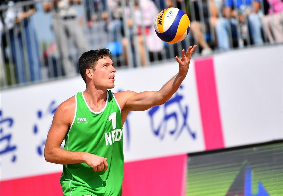 Men's Qualifiers Boehle/Van De Velde Through to Qinzhou Quarterfinals