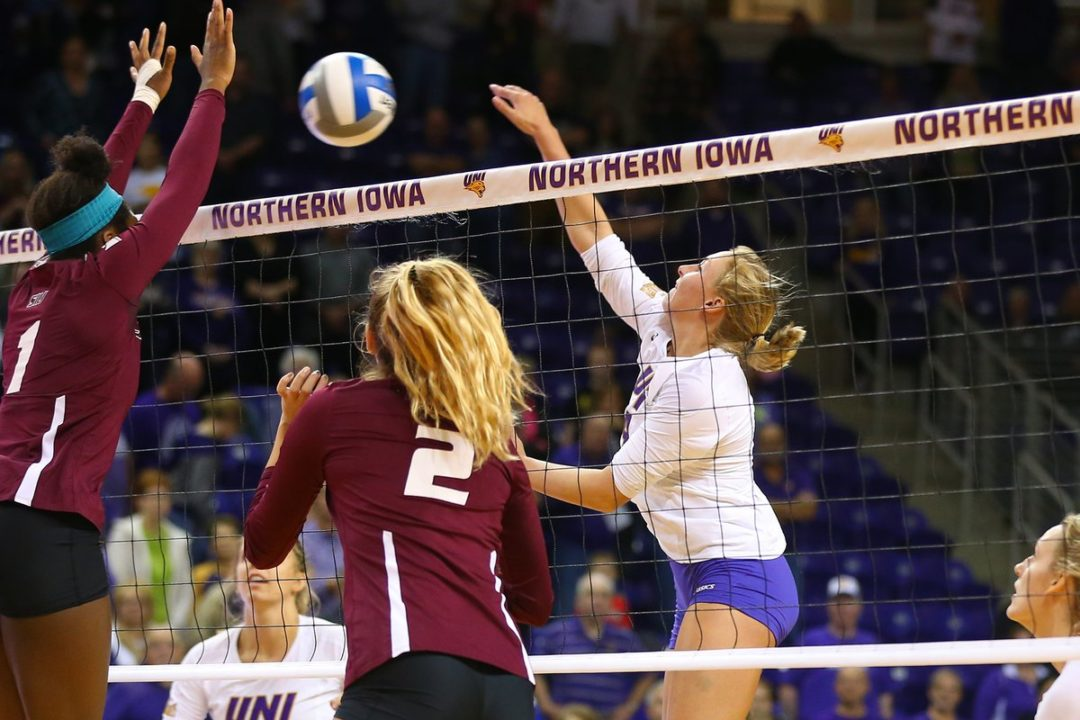 UNI's Bri Weber Joins Elite 1,000 Kill/1,000 Dig Club vs. SIU