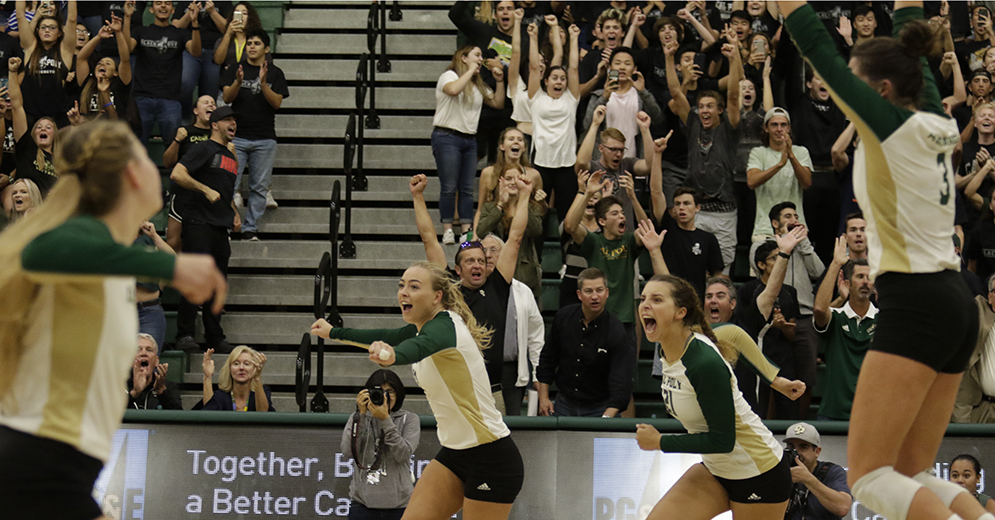 #20 Cal Poly Tops Hawaii in 5 to Seize Control of Big West Race