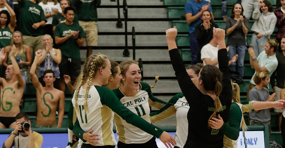 Cal Poly Set for 10 Home Matches in 2018