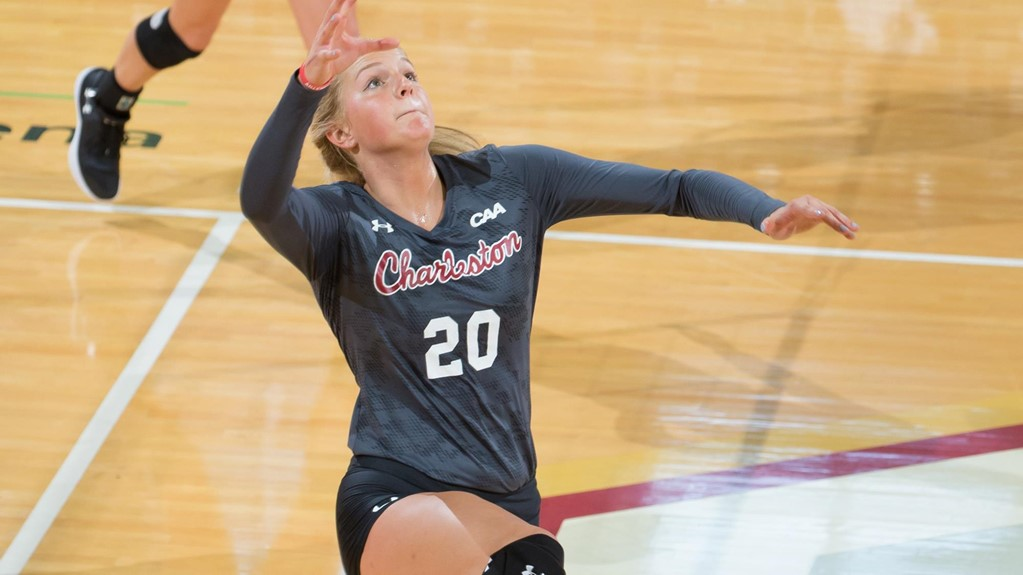 Charleston's Mummey Sets Career High In Win Over James Madison