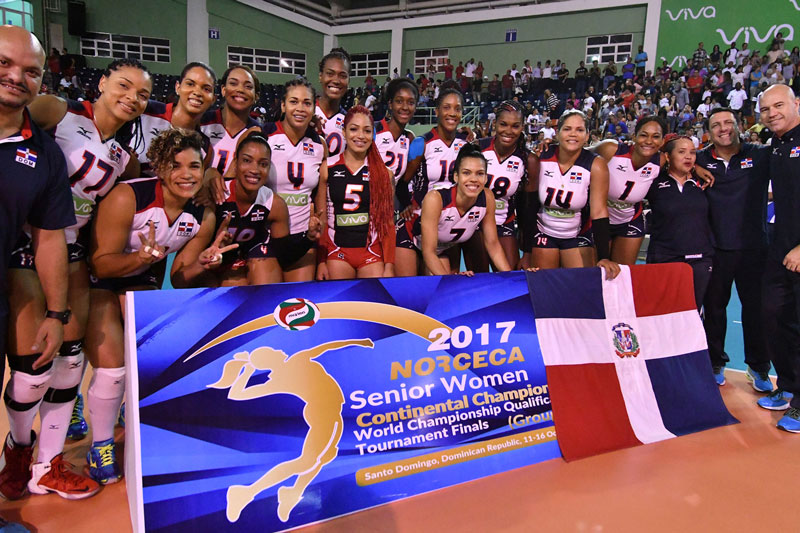 Dominican Republic Holds Home Court, Wins NORCECA Group A