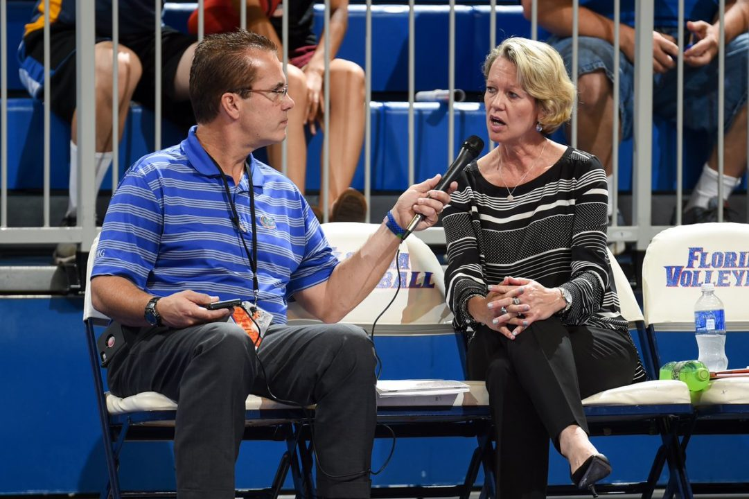 Florida's Mary Wise Named AVCA DI Coach Of The Year