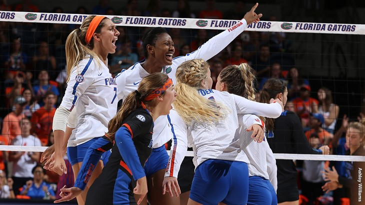 Balanced, Efficient Offense Lifts No. 4 Florida Past Auburn