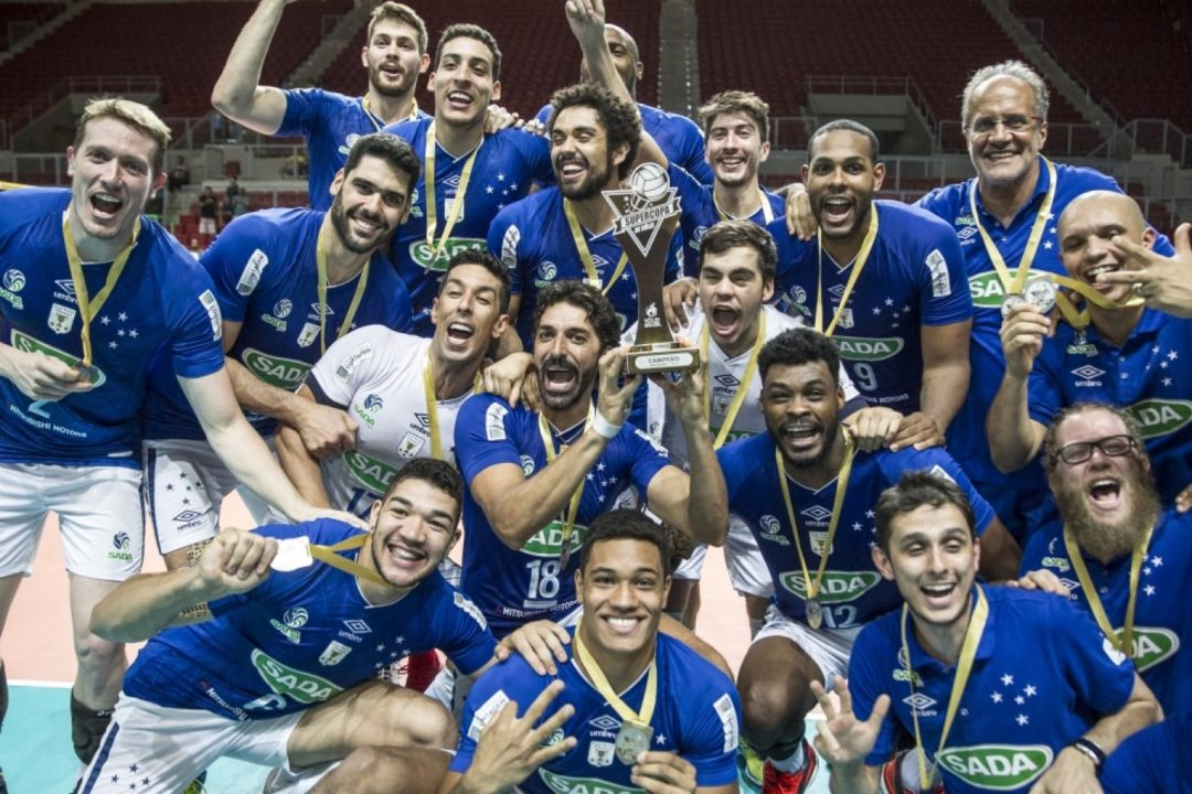 Sada Cruzeiro Beats EMS Taubaté To Win Brazilian Supercup