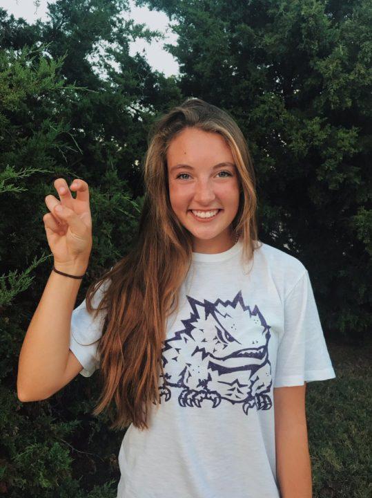 2020 Recruit Maddie Speicher Commits to TCU Beach