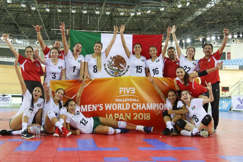 Mexico Outlasts Trinidad & Tobago to Win NORCECA Group C