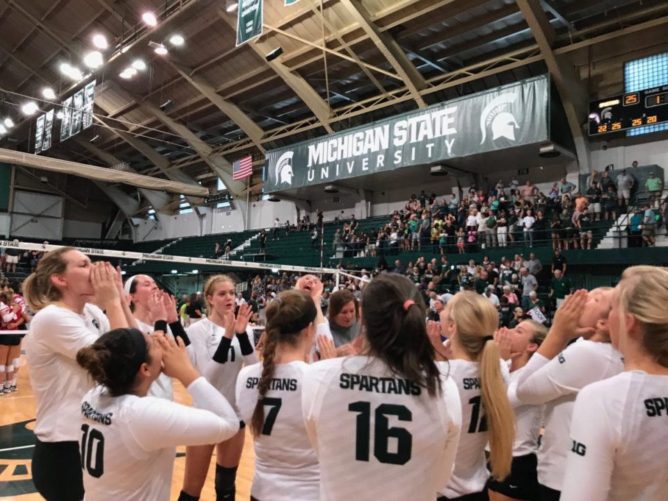 Bailey Notches Double-Double as No. 14 MSU Bests No. 10 Wisconsin