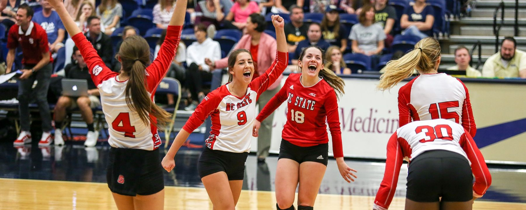 N.C. State Issues Pitt First ACC Loss, Snaps 13-Match Win Streak