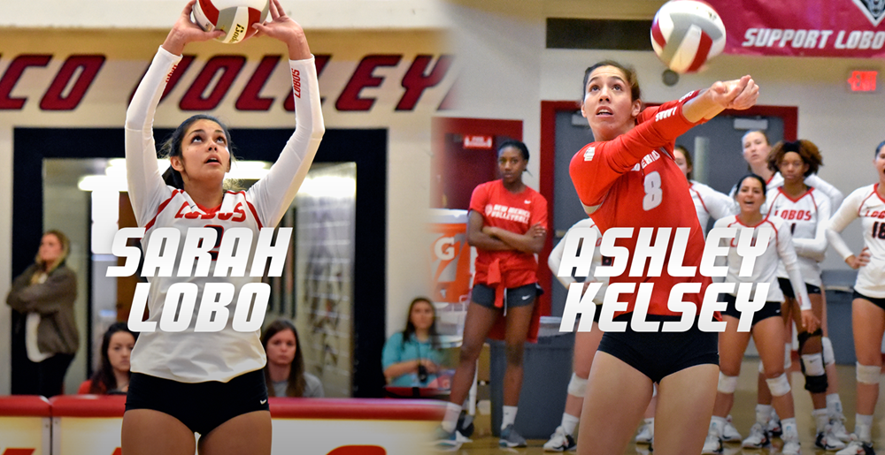 New Mexico's Sarah Lobo & Ashley Kelsey Sweep MWC Weekly Awards