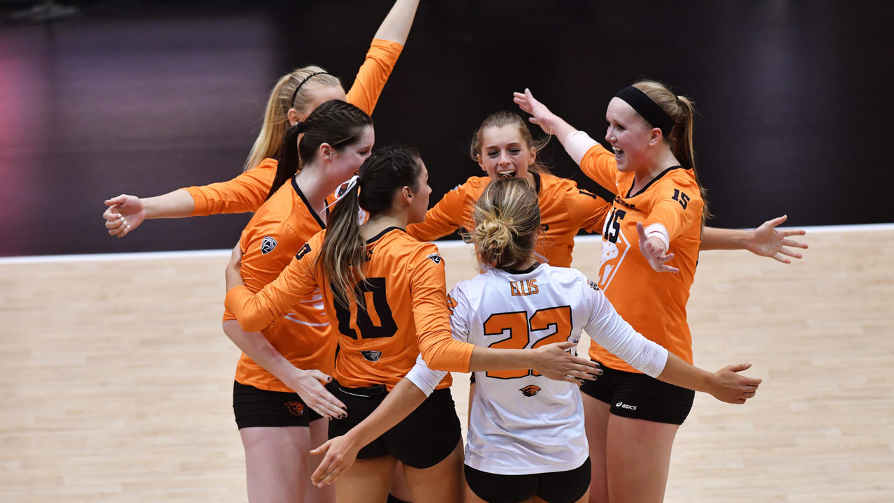 Maddie Goings Leads (RV) Oregon State to Wild 5-Set Win Over #8 Washington