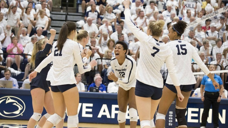 Lee Double-Double Leads No. 2 Penn State Past No. 10 Michigan State