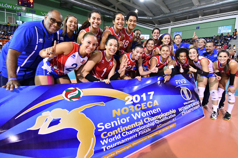 Puerto Rico, Dominican Republic Women Punch Ticket to 2018 Worlds