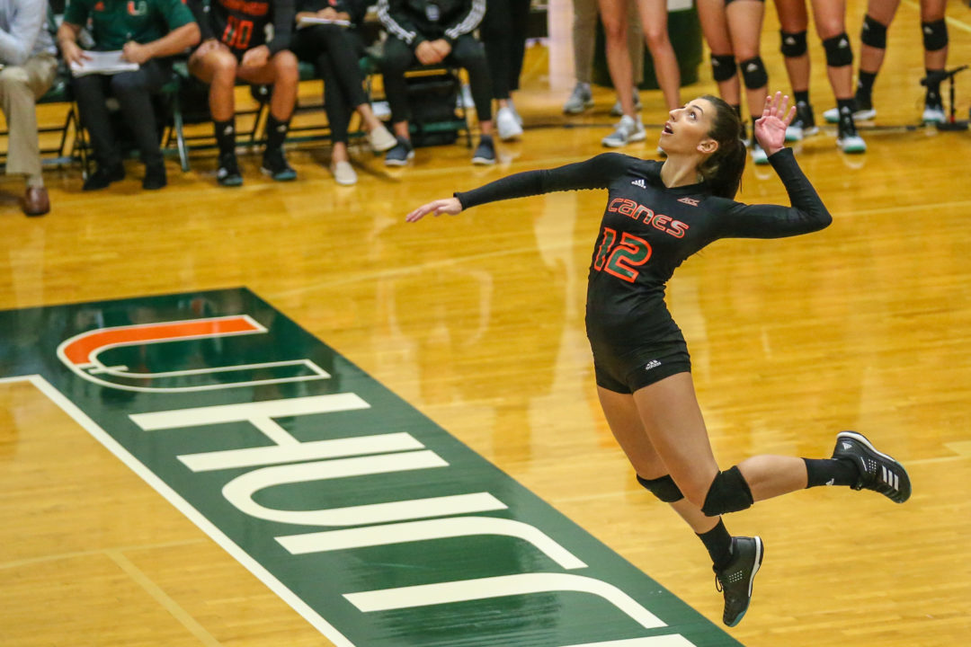 VolleyMob Player of the Week: Olga Strantzali, Miami (Fla.)