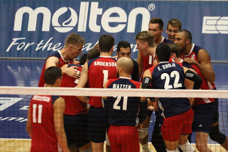 U.S. Men Get Revenge, Sweep Canada 3-0 in NORCECA Semi-Finals