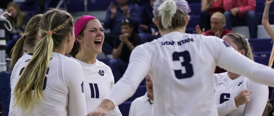 Kassidy Johnson Dishes Out 39 Assists in Utah St.'s Sweep of Boise St.