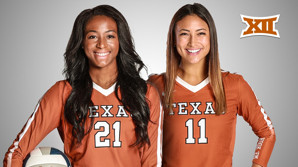 Texas' Picks Up Two Big 12 Honors In Chiaka Ogbogu & Lexi Sun