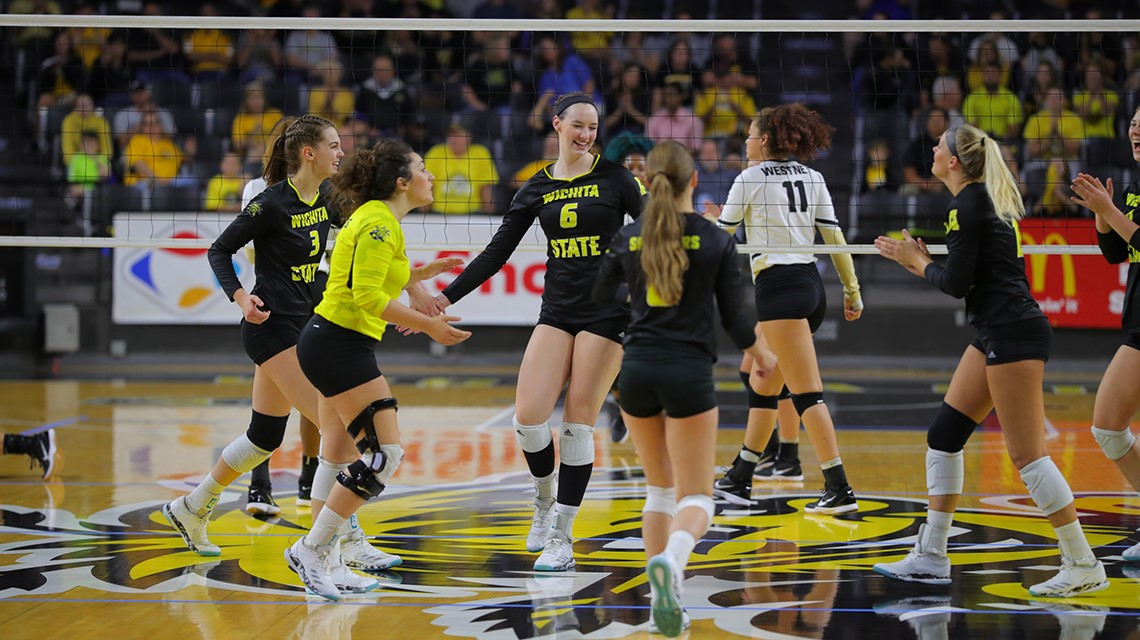 #24 Wichita State Remains Undefeated In AAC With Sweep Of Temple