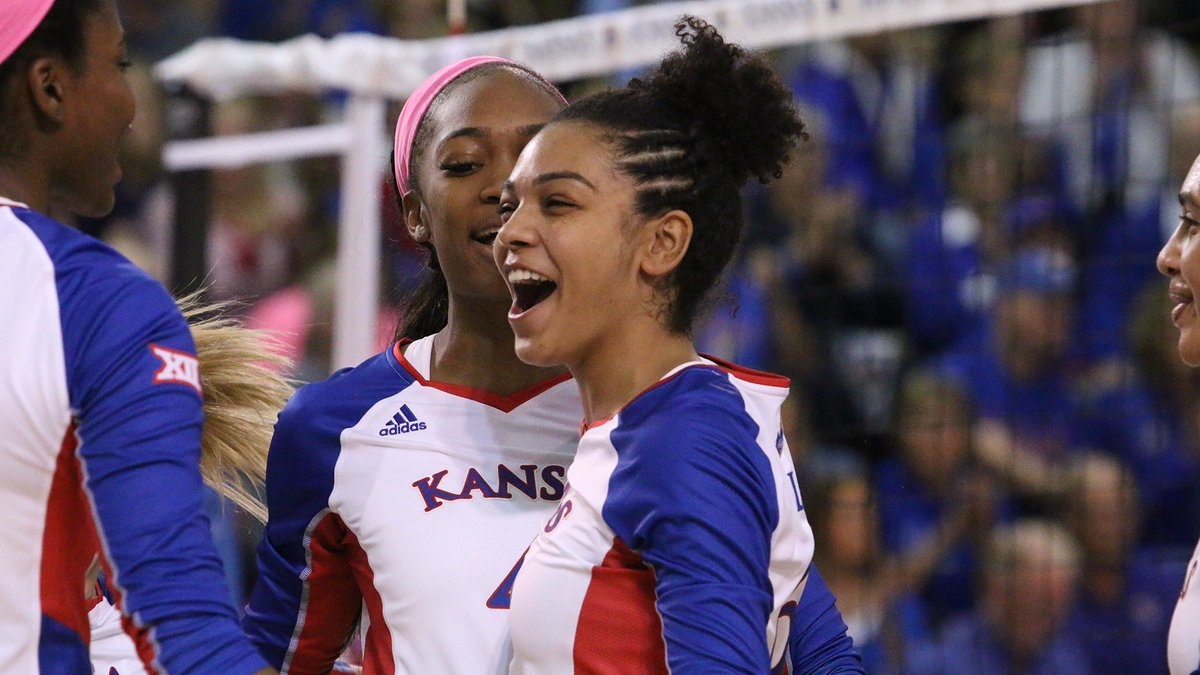 #9 Kansas Sweeps #17 Baylor to Set School Mark for Top-25 Wins