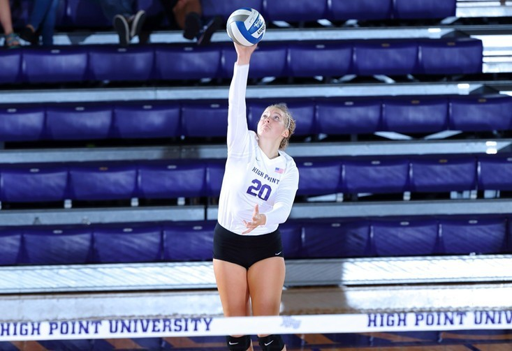 High Point's Haley Barnes Joins 1,000 Digs and Kills Club