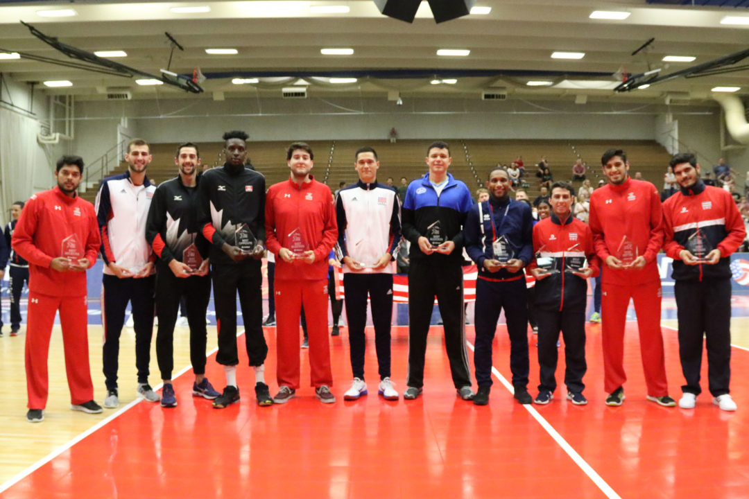 NORCECA Announces Men's Continental Championship MVP And Dream Team