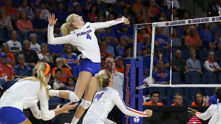 Florida's Carli Snyder Cracks 1,000 Career Kills In Win Over Alabama