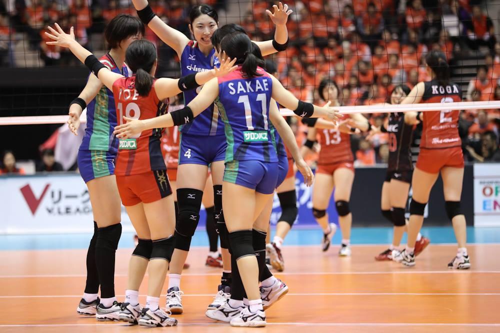 Japan Women: Hisamitsu dominate NEC in opening match