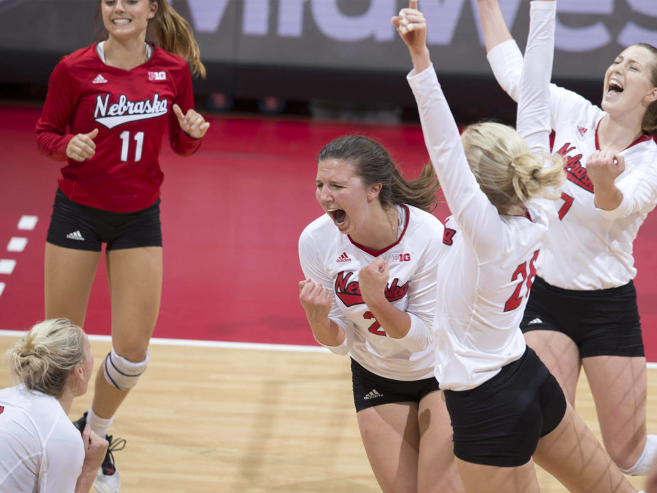 Nebraska Becoming a Top-10 Wrecking Ball; VolleyMob Top 25 Power Rankings (Week 7)