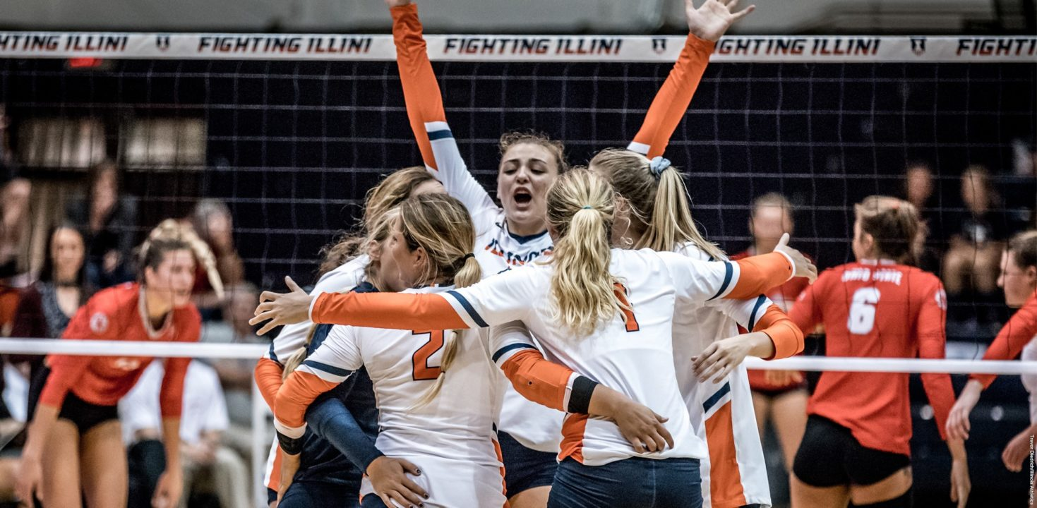 (RV) Illinois Survives Massive Comeback From Michigan, Wins In 5