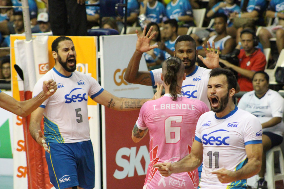 Sesc Upsets Title Favorites Taubaté On Its Superliga Debut
